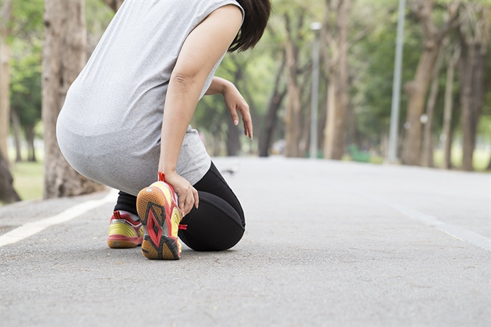 When should you be concerned about pain with running?