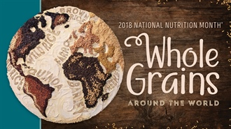 Cook with Whole Grains in Honor of National Nutrition Month