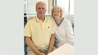 Giving and living: Ned and Diana Anderson come full circle